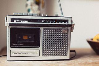 Radio mit Kassettendeck